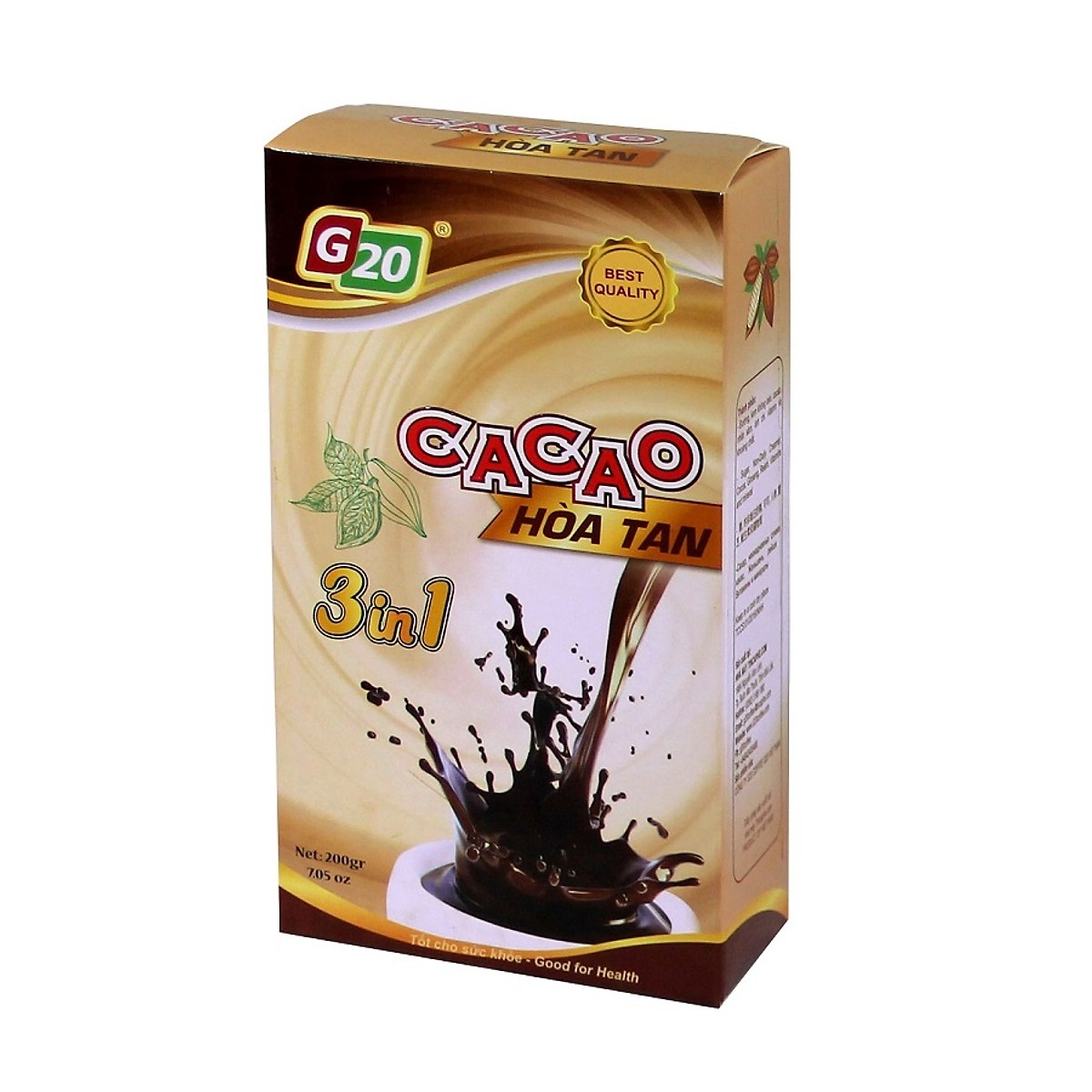 G20 CACAO HÒA TAN 3IN1